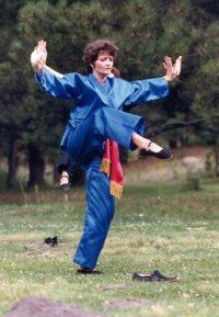 Marilyn Feeney Garuda Tibetan taiji instructor
